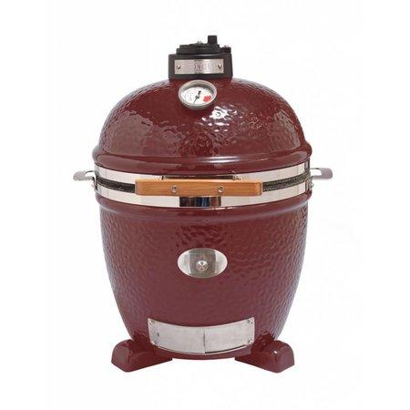 Monolith-Grills Monolith Junior ( 33 cm grill ) Keramische barbecue - Rood