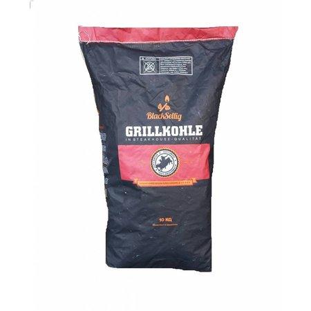 Black Sellig Hardhout Houtskool BBQ 10KG