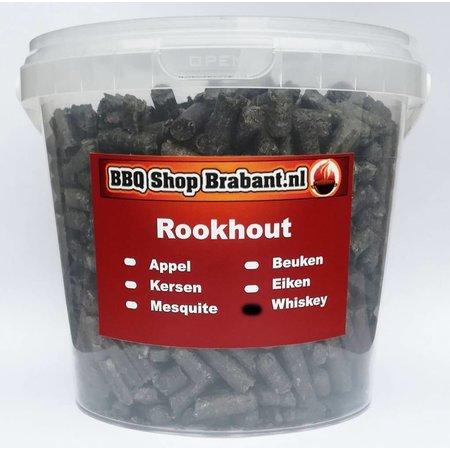 BBQ Shop Brabant Smoke Pellets Whiskey 1000 ml emmer