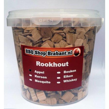BBQ Shop Brabant Rook Hout Appel 1000 ml emmer