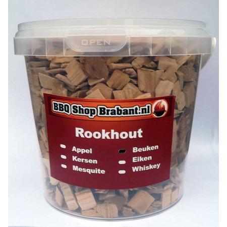 BBQ Shop Brabant Rook Hout Beuken 1000 ml emmer