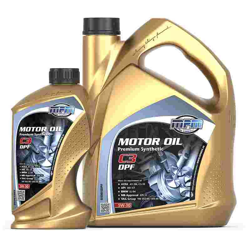 Mpm oil motorolie 5w 30 premium synthetisch c3 dpf 0800 for What s the difference between 5w30 and 10w30 motor oil