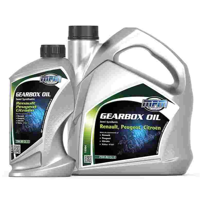 mpm oil versnellingsbak olie 75w 80 gl 5 semi synthetisch. Black Bedroom Furniture Sets. Home Design Ideas