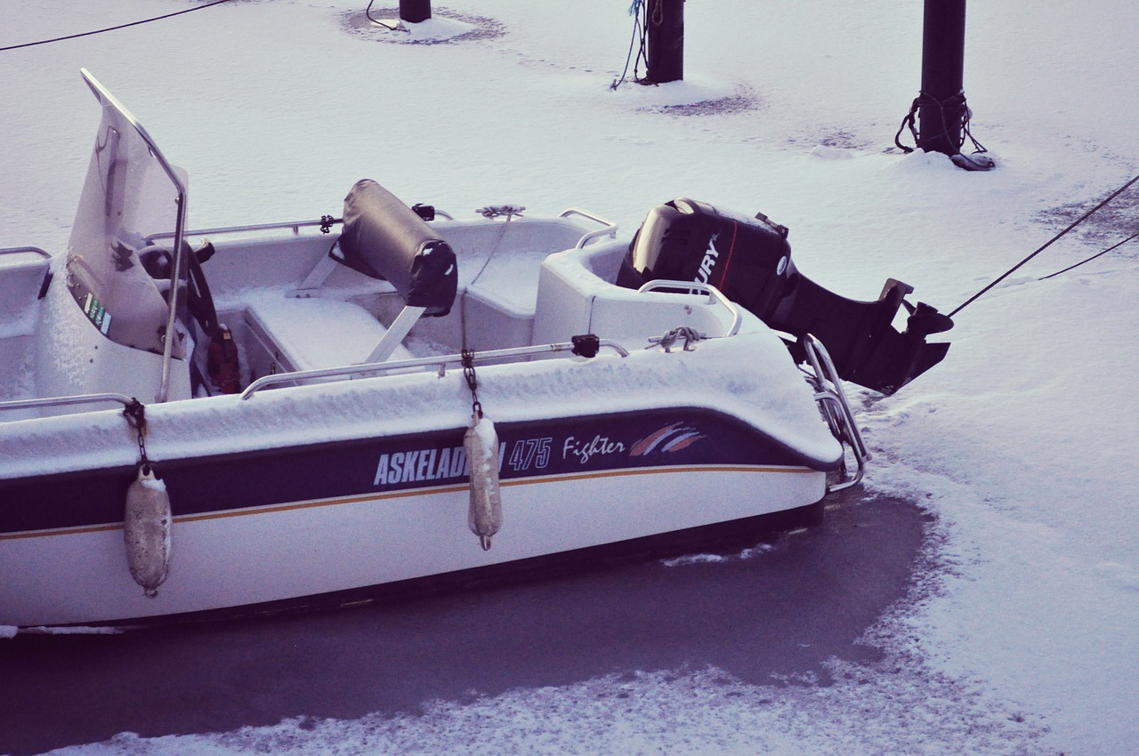 Winterboot stalling