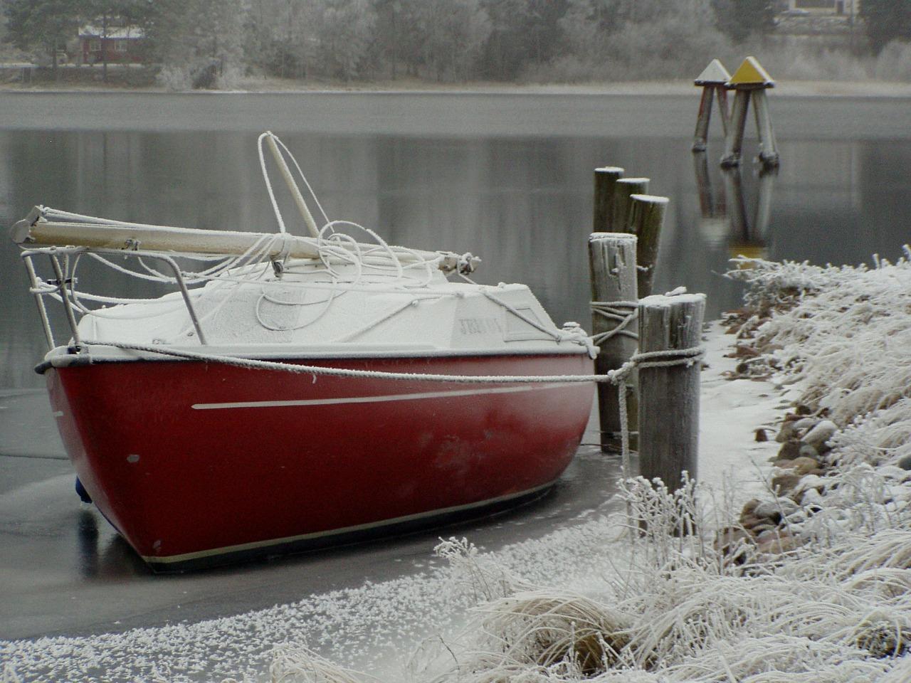 Zeilboot winterklaar maken