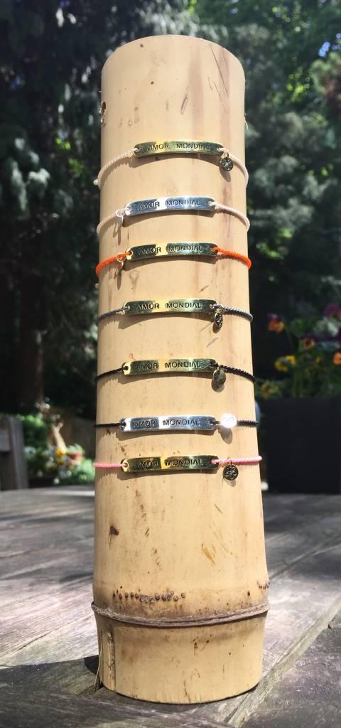 Bracelet Black & Gold Amor Mondial
