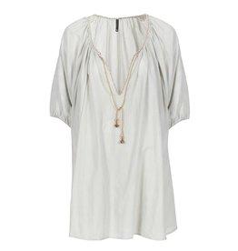 Kaftan Dress Lolita Light Grey/Pale blue