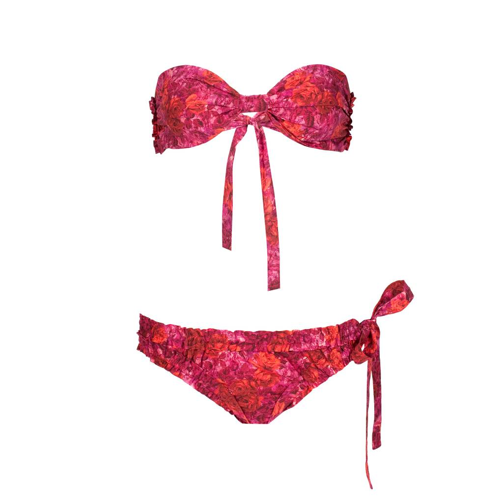 Bikini Marilyn In Love Red