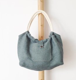 Bag 'Plage Amor' faded Jeans
