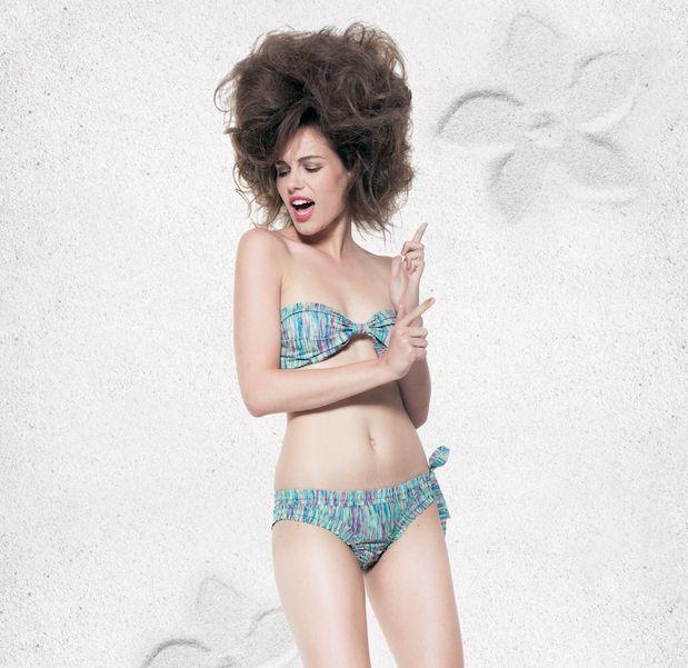 Bikini Marilyn In Love Blue