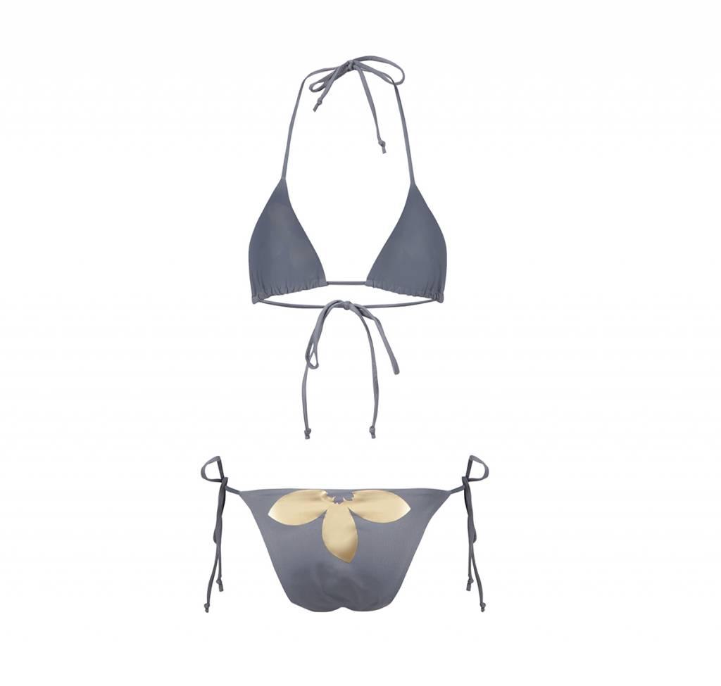 Bikini Amor Grey&Gold