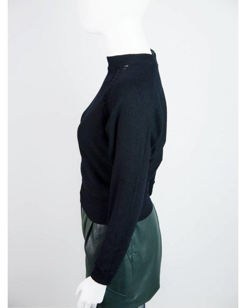 pullover mit schwestern hinten