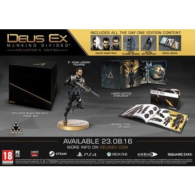 PS4 Deus Ex: Mankind Divided - Collector's Edition
