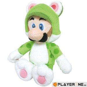 Merchandising NINTENDO - SUPER MARIO - CAT LUIGI Plush 25 Cm