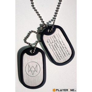 Merchandising WATCH DOGS - Dogtag Fox Wanted