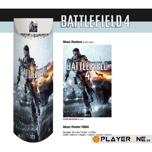 Merchandising BATTLEFIELD 4 - Display 56 Posters (61X91) : 56 X Cover
