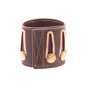 Merchandising ASSASSIN'S CREED BLACK FLAG - Brown In-Game Skulls Wristband