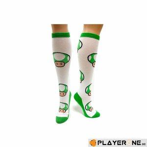 Merchandising NINTENDO - Green Mushroom Sock