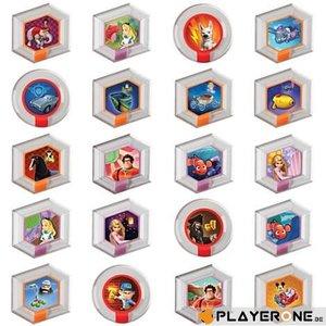 Disney Infinity DISNEY INFINITY - 2-Power Disks Pack WAVE 1 (BOX 48 Pces)