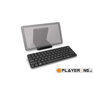 PC Wireless Keyboard - Wedge Mobile Keyboard Bluetooth AZERTY