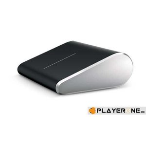 PC Wireless Notebook Mouse - Wedge Touch Mouse Bluetooth Black