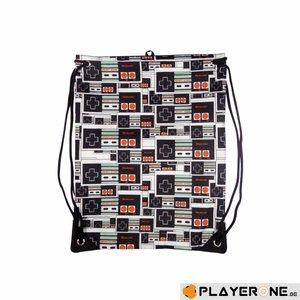 Merchandising NINTENDO - Gym Bag - NES Controller Logo Black
