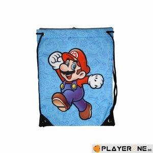 Merchandising NINTENDO - Super Mario Bros - Gym Bag - Mario Blue