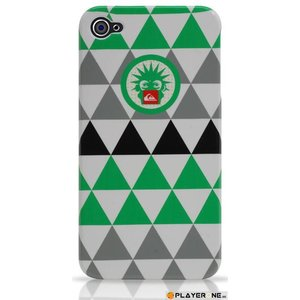 Mobiles QUIKSILVER - Hard Case Iphone 4/4S : Rubby