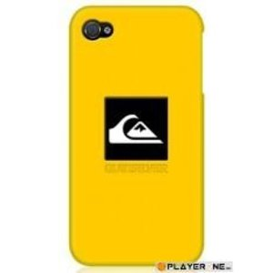 Mobiles QUIKSILVER - Silicon Case Iphone 4/4S : Yellow