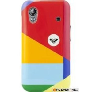 Mobiles ROXY - Hard Case Galaxy Ace : Multicolor Triple Layers