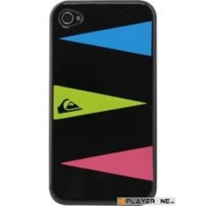 Mobiles QUIKSILVER - Hard Case Iphone 4/4S : Graphic Black Triple Layers