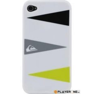 Mobiles QUIKSILVER - Hard Case Iphone 4/4S : Graphic White Triple Layers