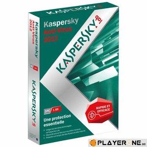 PC Kaspersky Anti-virus 2012 3PC/1Year