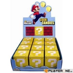 Merchandising NINTENDO (Candy) - Super Mario Bros - Coin Candies (Boite de 12)
