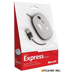 PC Express Notebook Mouse Red - Microsoft