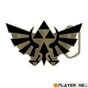 Merchandising NINTENDO - Zelda Gold Logo Buckle