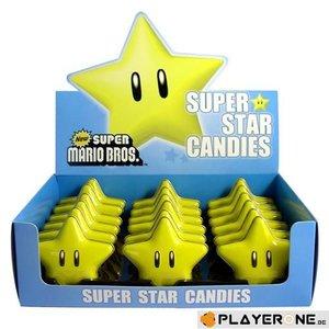 Merchandising NINTENDO (Candy) - Super Mario Bros - Super Star Candies (Boite de 18)