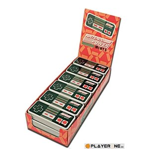 Merchandising NINTENDO (Candy) - Controller Mints (Boite de 18)