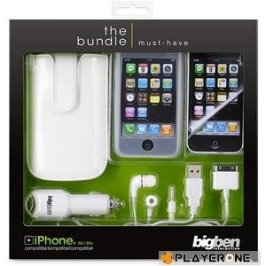 Mobiles IPhone - Bundle Must Have White (Big Ben) Iphone 3 & 4