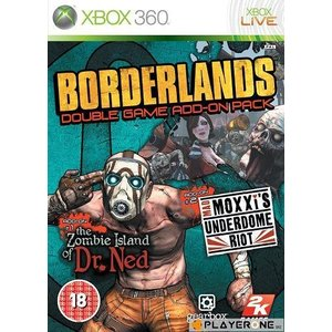 X360 Borderlands Game Add On Pack