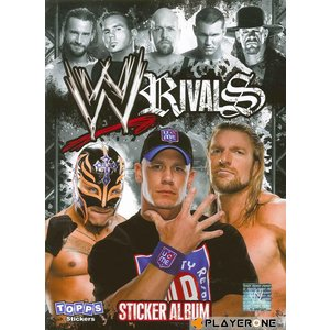 Cards Carte - WWE Rival Stickers ALBUM