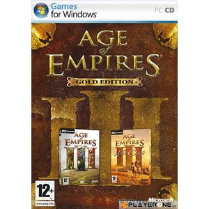 PC Age of Empires 3 : Gold ( AOE III + AOE III WARCHIEF)