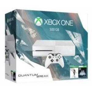 XONE Console Xbox One 500 Gb White - BUNDLE QUANTUM BREAK