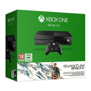 XONE Console Xbox One 500 Gb Black - BUNDLE QUANTUM BREAK