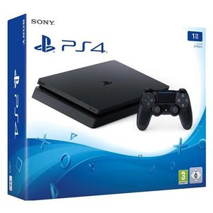 PS4 Console PS4 SLIM - 1 TB - Black