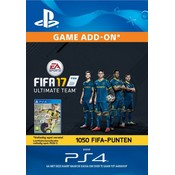 PS4 FIFA 17 Ultimate Team 1050 Points (BE)