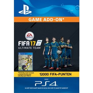 PS4 FIFA 17 Ultimate Team 12000 Points (BE)