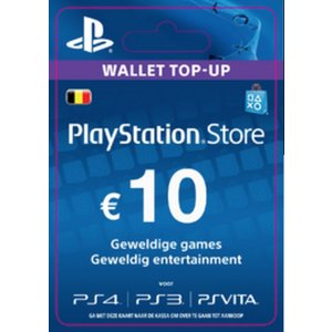 PS4 PlayStation Network - 10 Euro (BE)