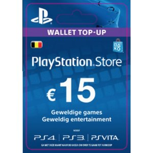 PS4 PlayStation Network - 15 Euro (BE)