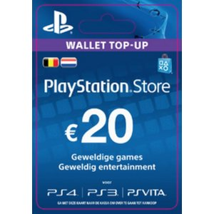 PS4 PlayStation Network - 20 Euro (BE)